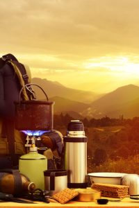 coffe in camping